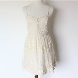 American Eagle Lace Embroidered Dress